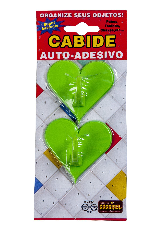 Cabide Adesivo Coração (211.614)